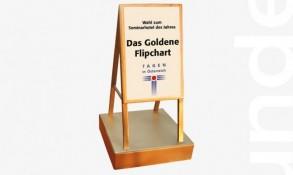 Goldenes Flipchart 2017