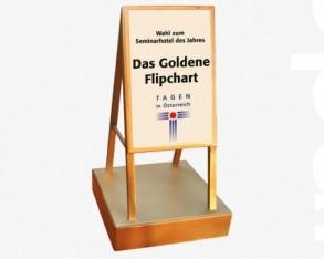 Goldenes Flipchart 2018
