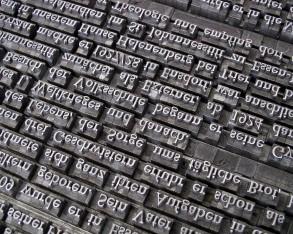 Typografie an einem Tag
