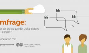 Aufruf zur Umfrage: Ist die Digitalisierung im HR-Bereich angekommen?